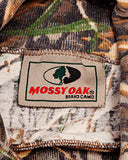1990s Mossy Oak Camouflage Made in USA Vintage Long Sleeve Turtleneck