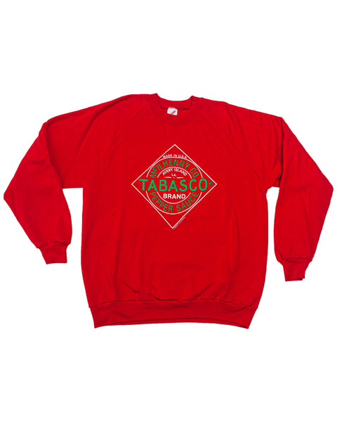 1980s Vintage Tabasco Hot Sauce Sweatshirt