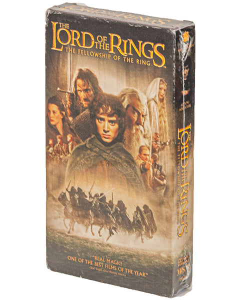 2002 (NOS) The Lord Of The Rings: The Fellowship Of The Ring - VHS Tape