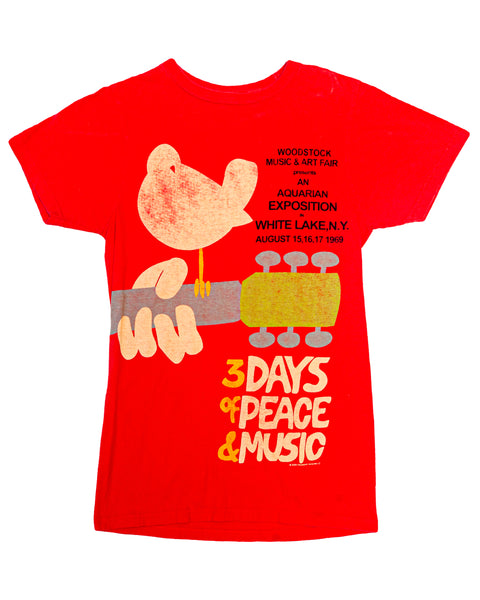 2008 Woodstock Music & Art Fair 1969 Reprint T-Shirt