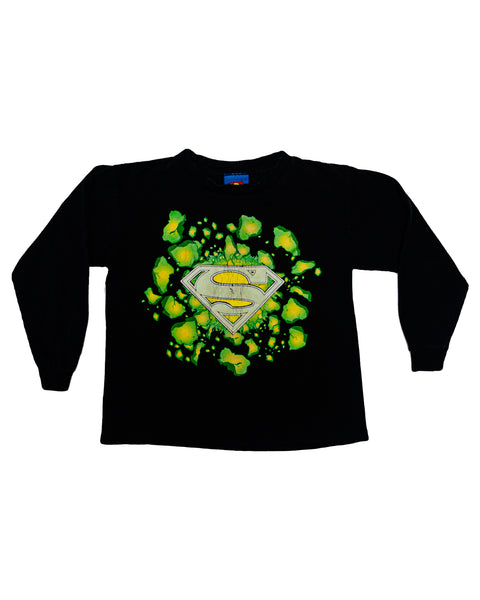 2006 Superman Glow In The Dark Kryptonite T-Shirt