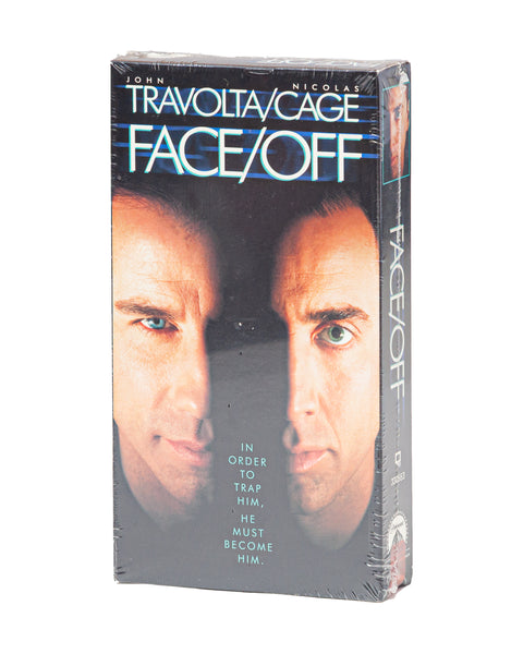 1997 Vintage (NOS) Face/Off - VHS Tape