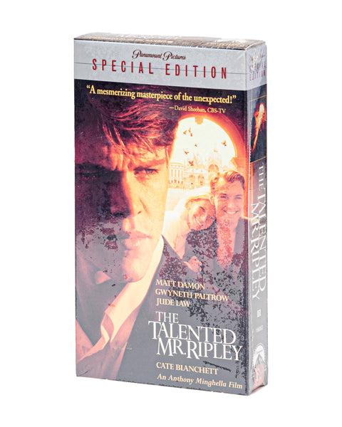 2001 (NOS) The Talented Mr. Ripley Special Edition - VHS Tape