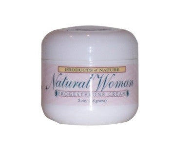 Natural Woman Progesterone Cream - 2 oz.