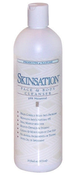 Skinsation Face and Body Cleanser 16 oz.