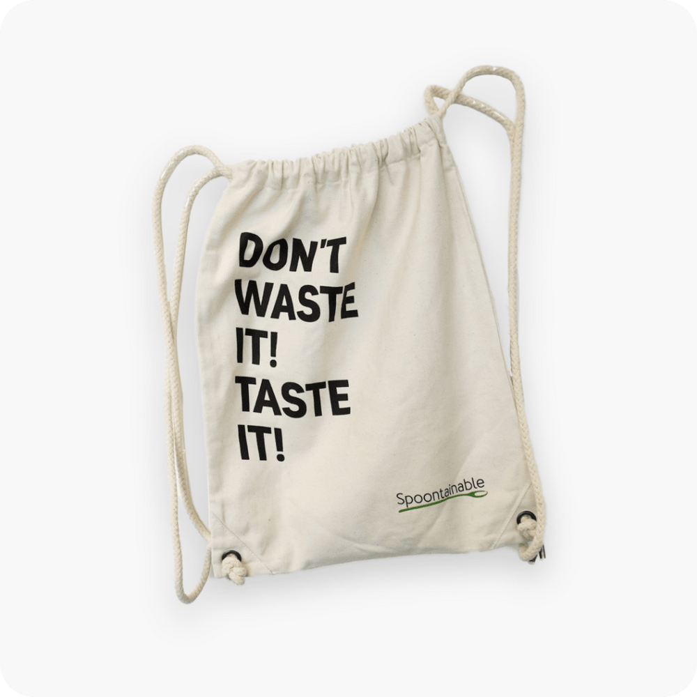 "Turnbeutel - ""Don't waste it, taste it"""