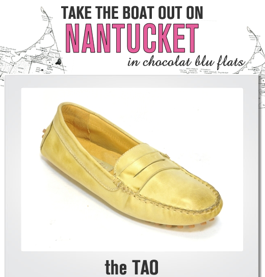 Travel to Nantucket in THE TAO