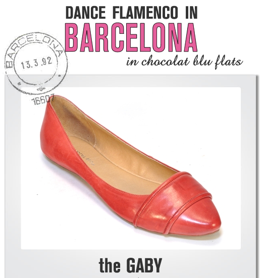 Travel to Spain in THE GABY