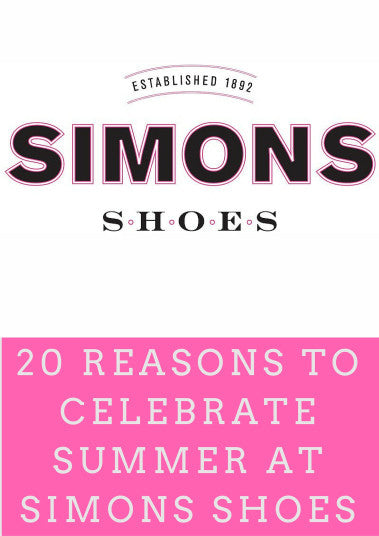 20 Reasons to Celebrate Summer at Simons Shoes