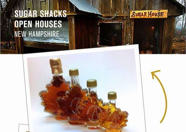 Spring Day Trips in New England - The Sugar Shack