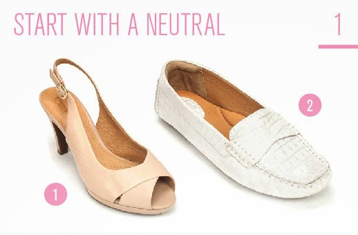 How To Wear Pastels: Start with a Neutral