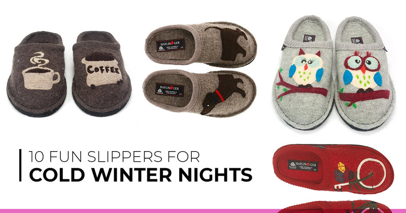 10 Fun Slippers for Cold Winter Nights