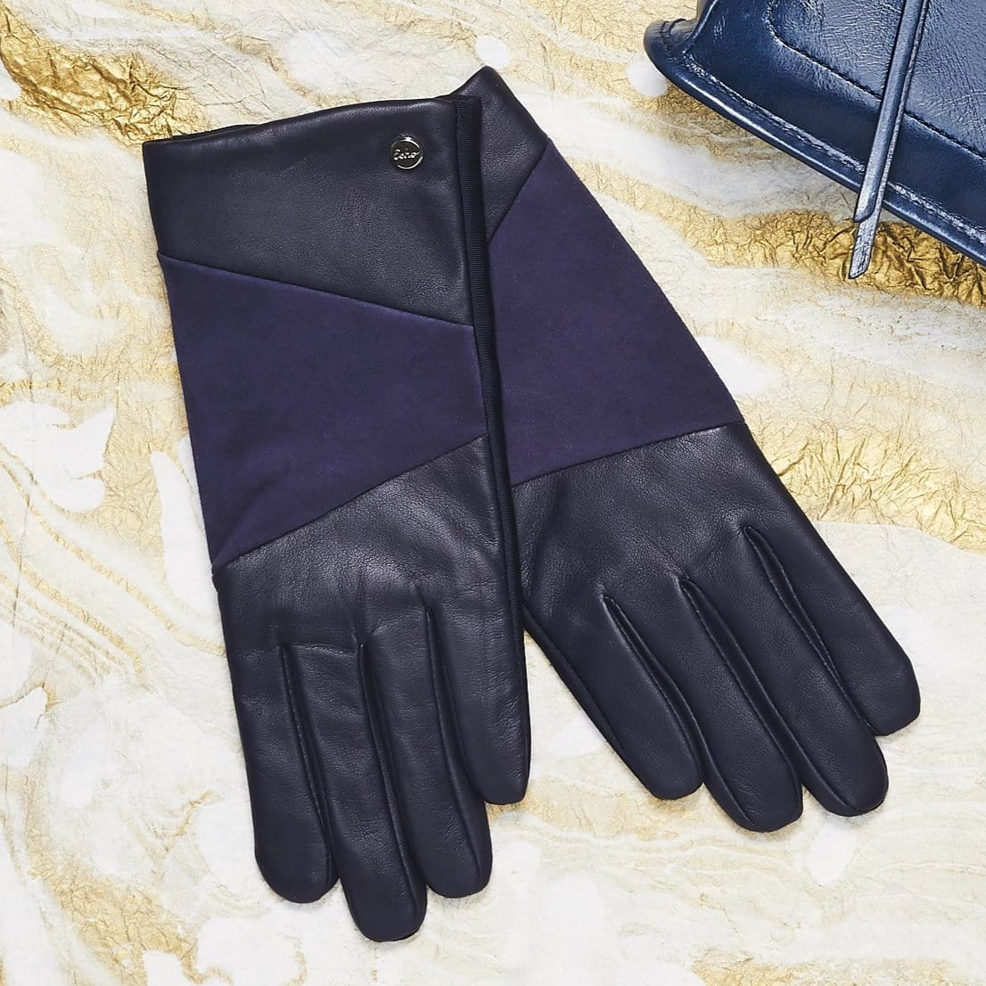 Leather Block Superfit Glove (EGO154)