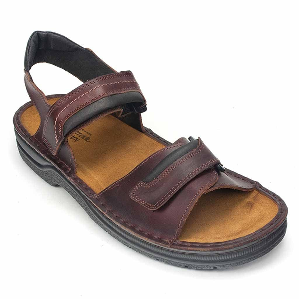 Naot Lappland Men's Adjustable Leather Sandal (69601) Buffalo | Simons Shoes