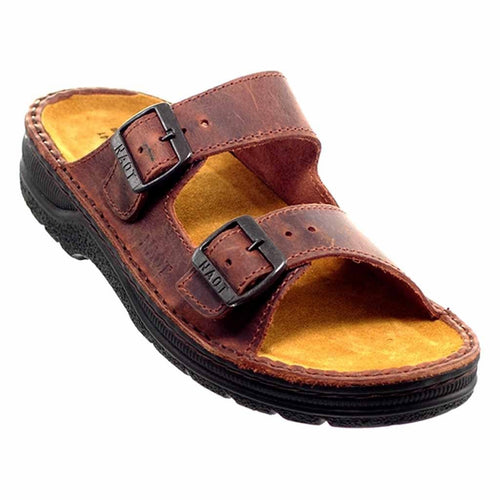 Naot Mikael Men's Adjustable Leather Strap Comfort Slide Sandal Shoe