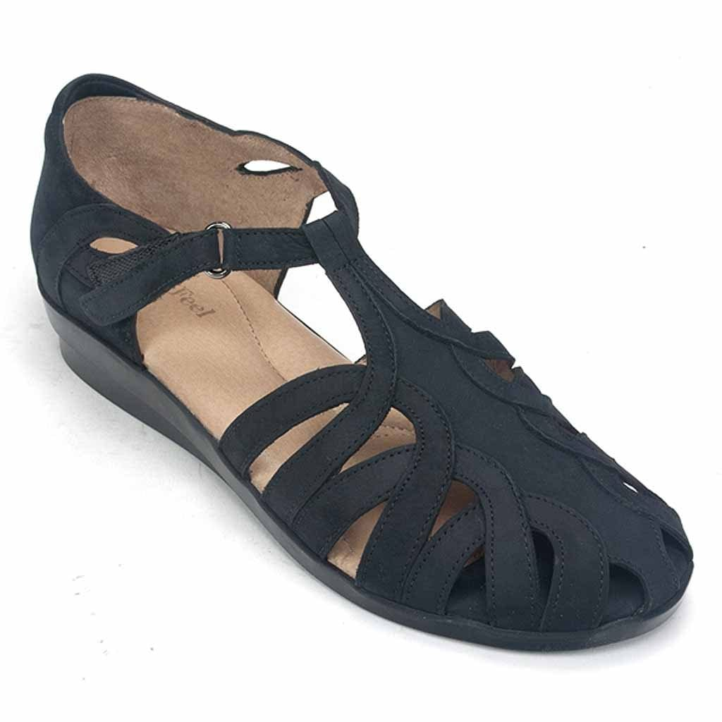 BeautiFeel Brazil (71) | Woman's Nubuck & Latex Sandal | Simons Shoes