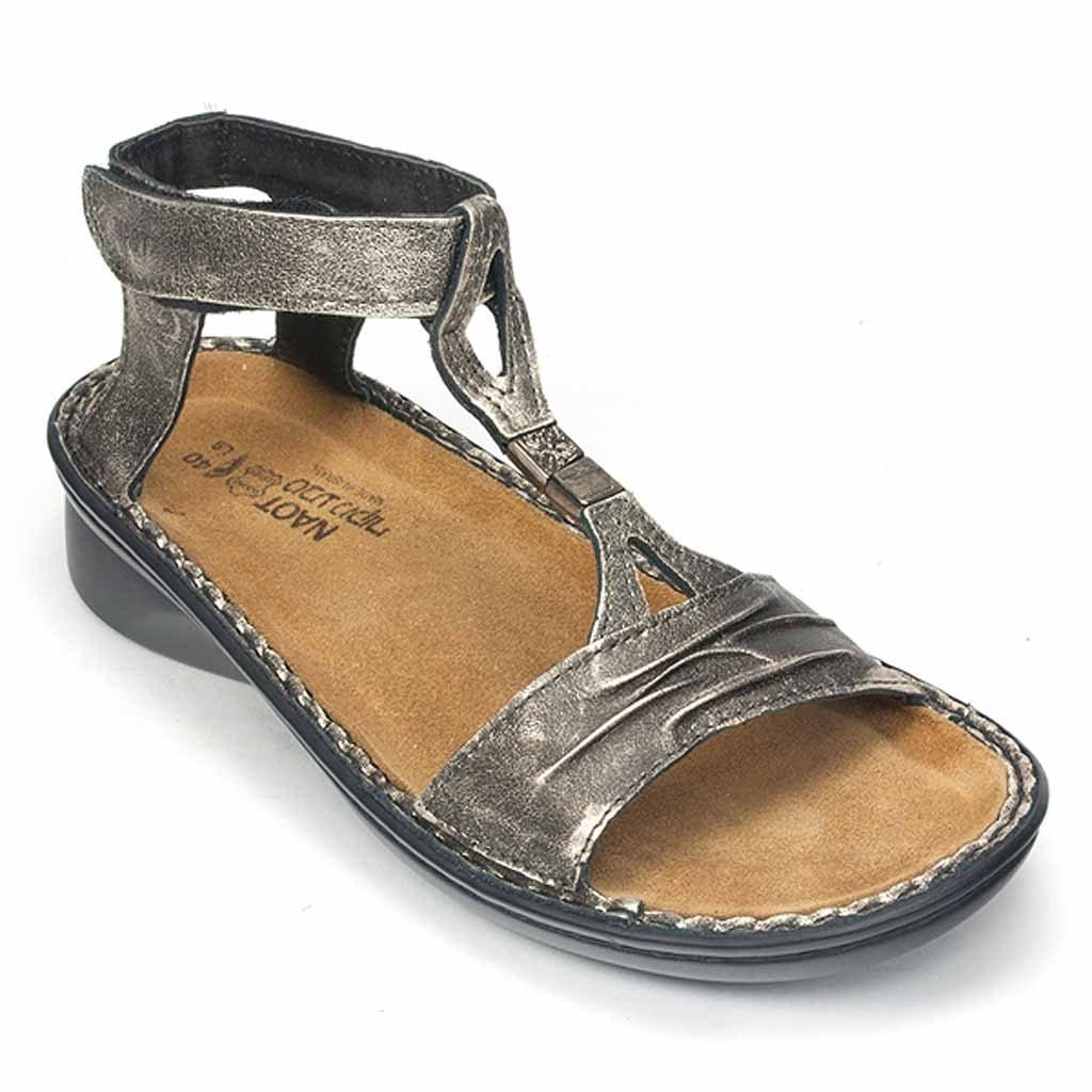 Naot Cymbal Women's Leather Unique Cut Supportive Comfy Sandal Shoe