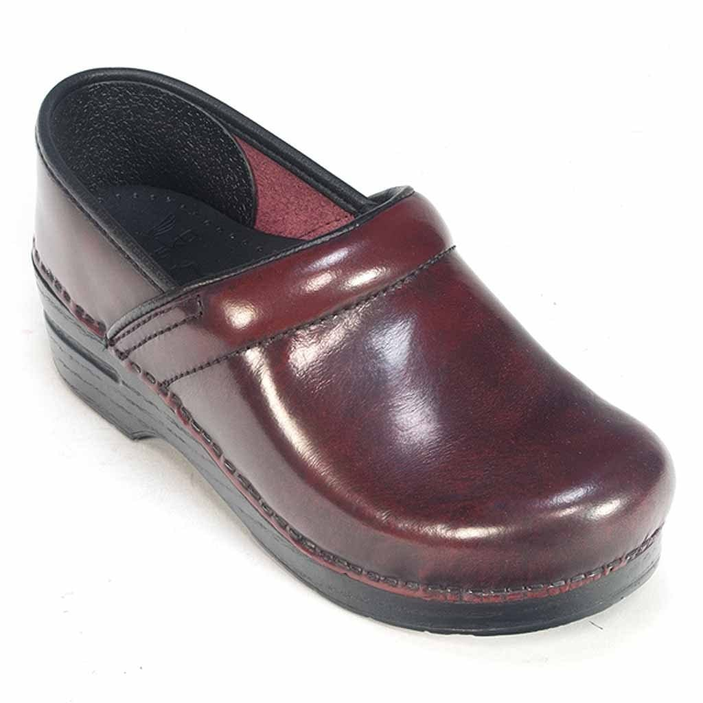 Dansko Professional Womens Leather Anti Fatigue Comfy Clog Work