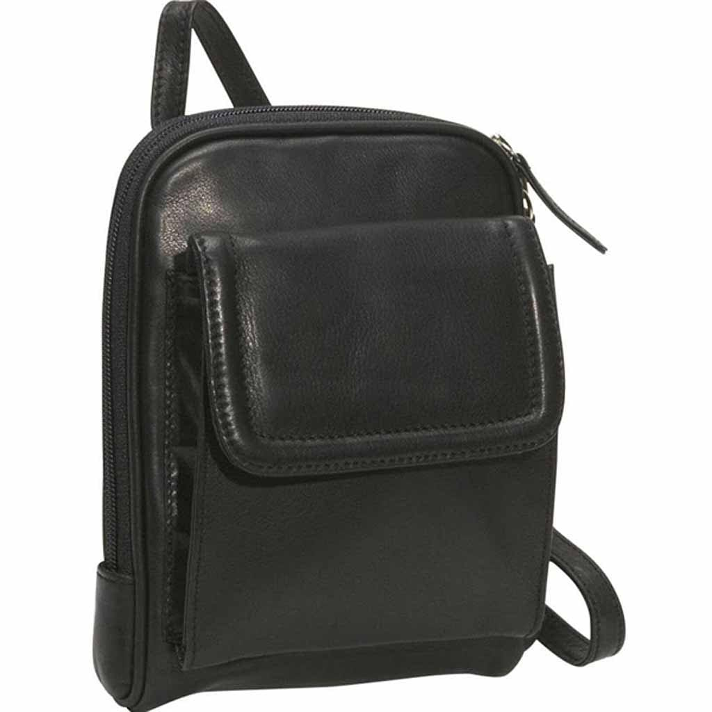Osgoode Marley Unisex Mini Leather Organizer Bag (4501)