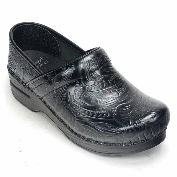 Dansko Professional Tooled Leather Clogs Dress Your Feet