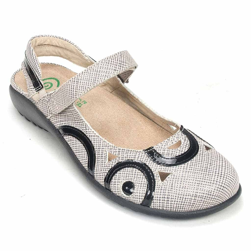 Naot Women's Rongo Leather Mary Jane Slingback Shoe