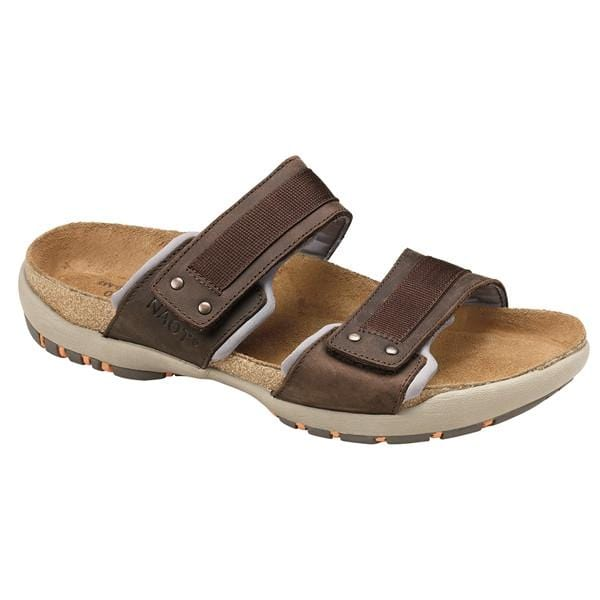 Naot Climb Men's Leather Adjustable Buckle Contouring Sandal