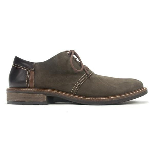 Naot Men's Chief Removable Cork Footbed Leather Lace-up Shoes