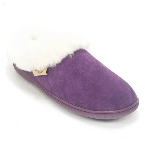 RJ's Fuzzies Unisex 110 Sheepskin Scuff Clog Slipper Shoe
