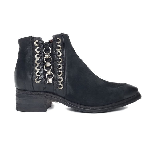 AS98 Case Western Bootie - Chain Adorned Bootie - At Simons Shoes