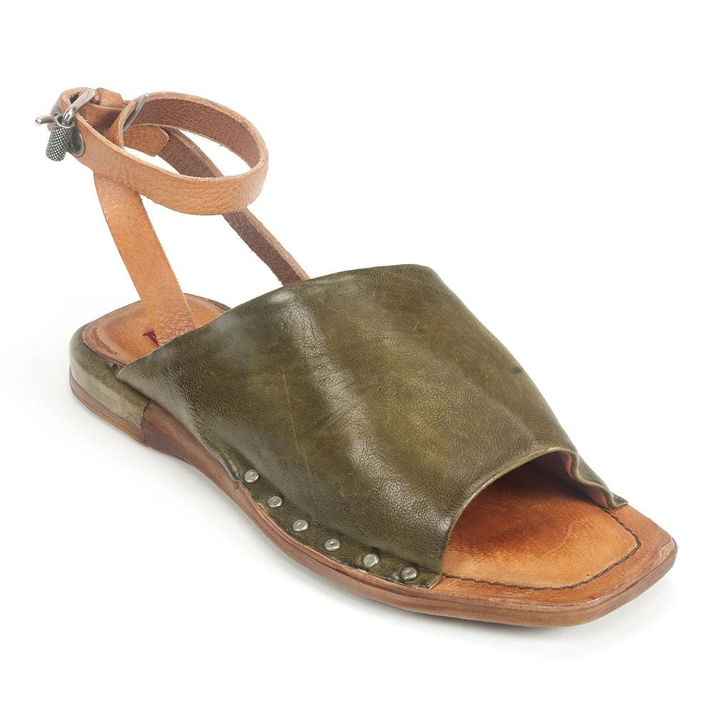 AS98 Colt Womens Gladiator Leather Slide Sandal | Simons Shoes