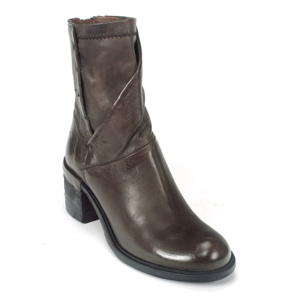 AS98 Jarvis Women's Premium Leather Boot Side Zip Smoke | Simons Shoes