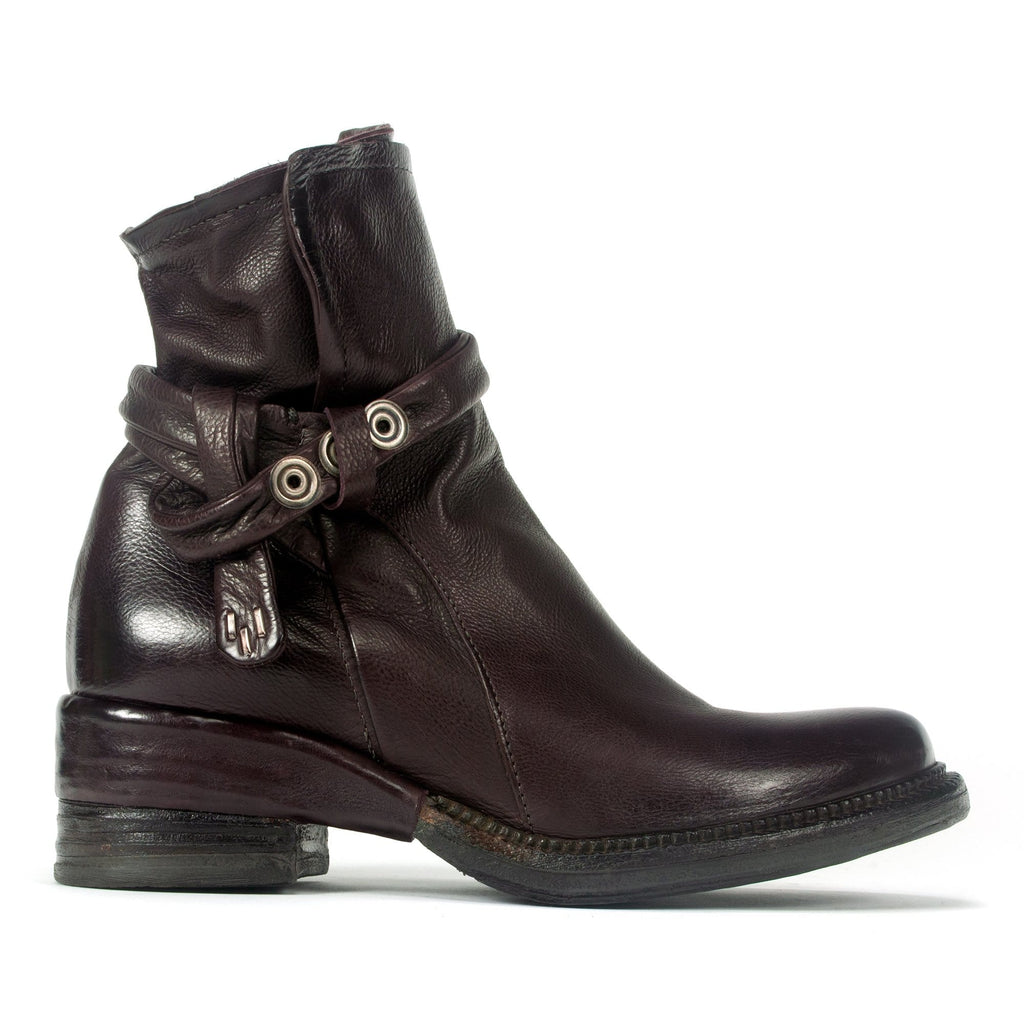 AS98 Stockley Women's Premium Leather Boot Liz Brown| Simons Shoes