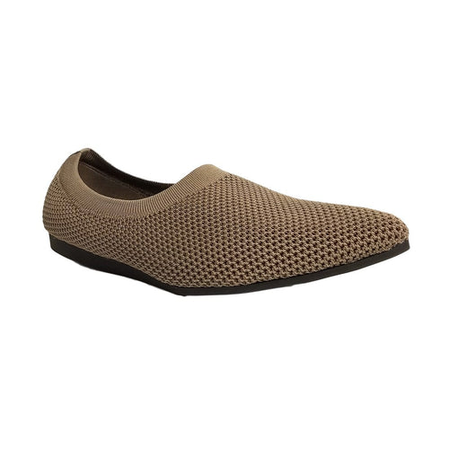 All Black Footwear Slip On Flat - Mesh Elf Slip On Flat - Simons Shoes