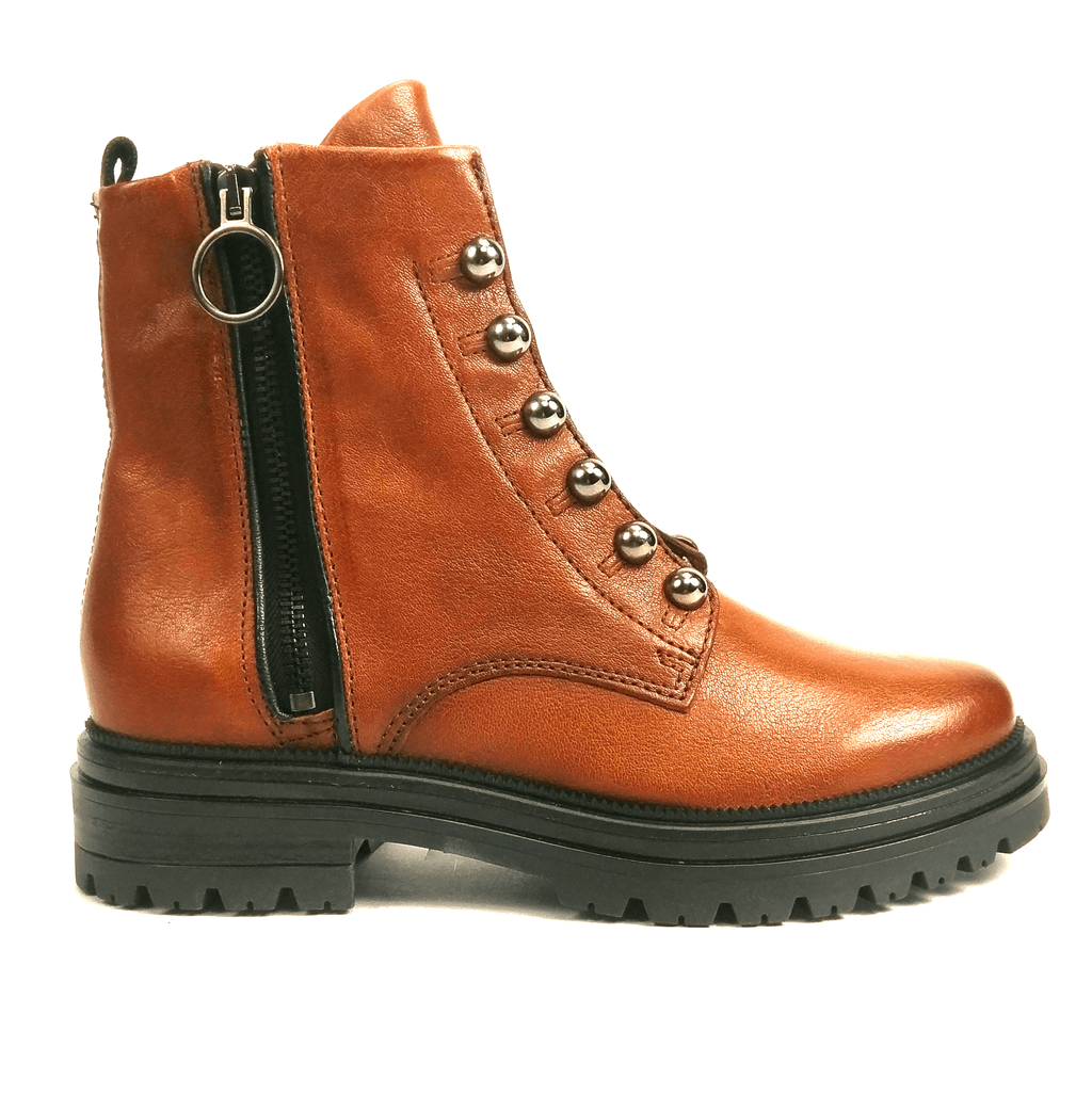 MJUS Dorcie Boot | Women's Leather Combat Military Boot | Simons Shoes