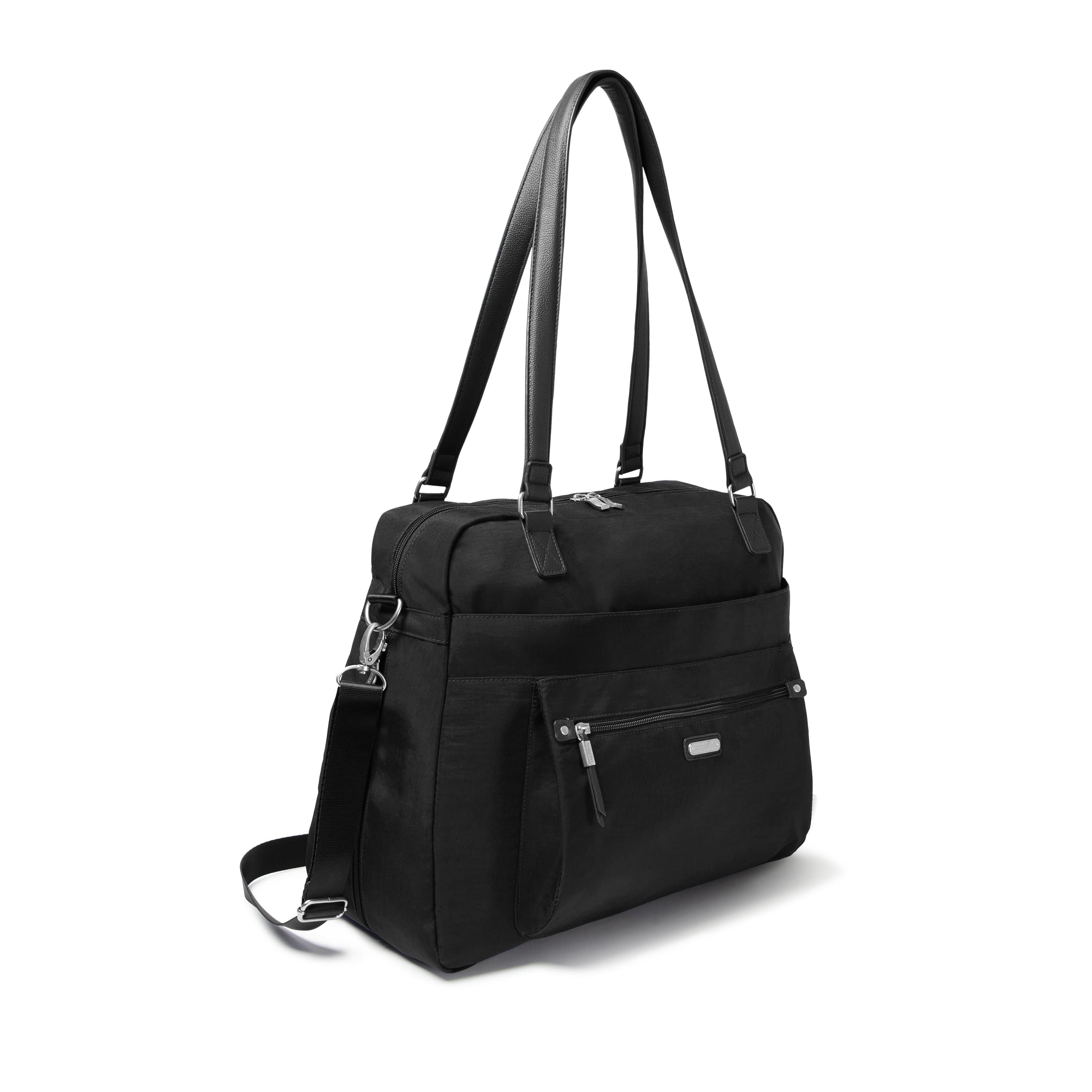 Baggallini OET337 Water Resistant Nylon Expandable Laptop Tote Bag