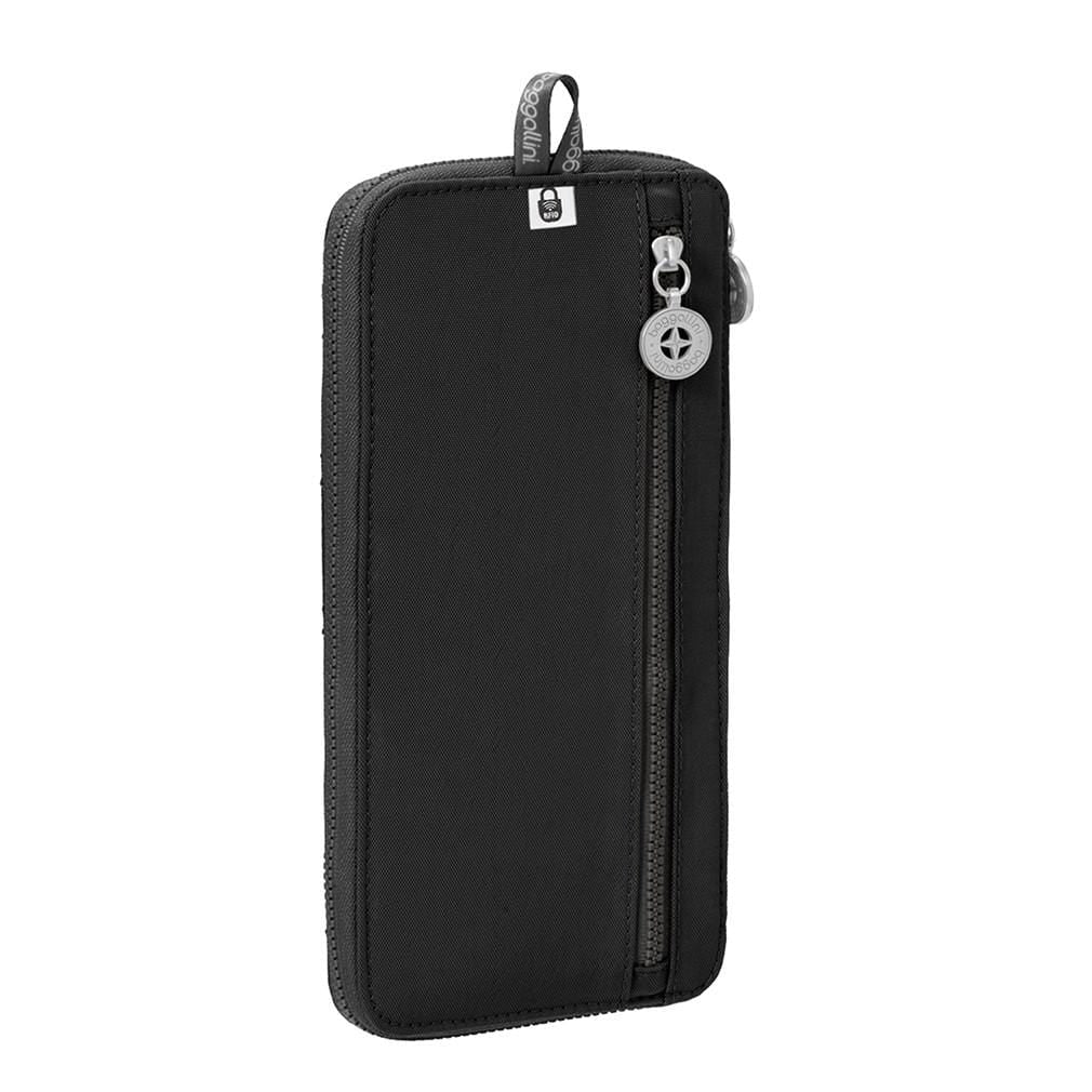 Baggallini Quilted Nylon RFID Travel Wallet TRW186 Accessory