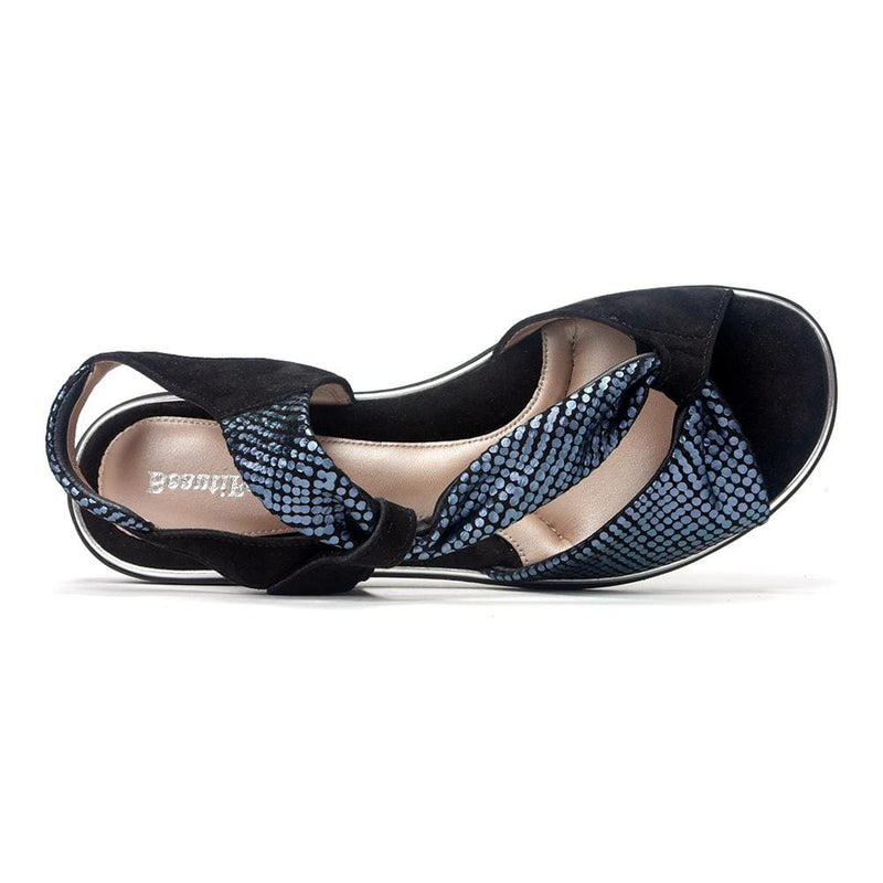 BeautiFeel Camille 267 Women's Leather Dressy Sandal Comfort Shoe