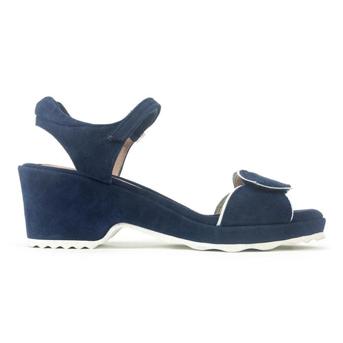 Beautifeel Emma Womens Adjustable Suede Wedge Sandal | Simons Shoes