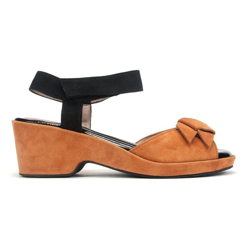 BeautiFeel Women's Liz Leather Heel Wedge Sandal Shoe