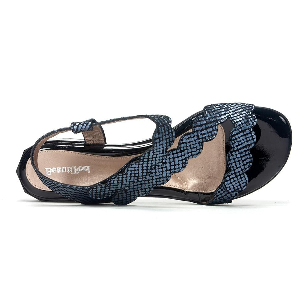 Beautifeel Sandal | Women's Musa Criss Cross Leather | Simons Shoes