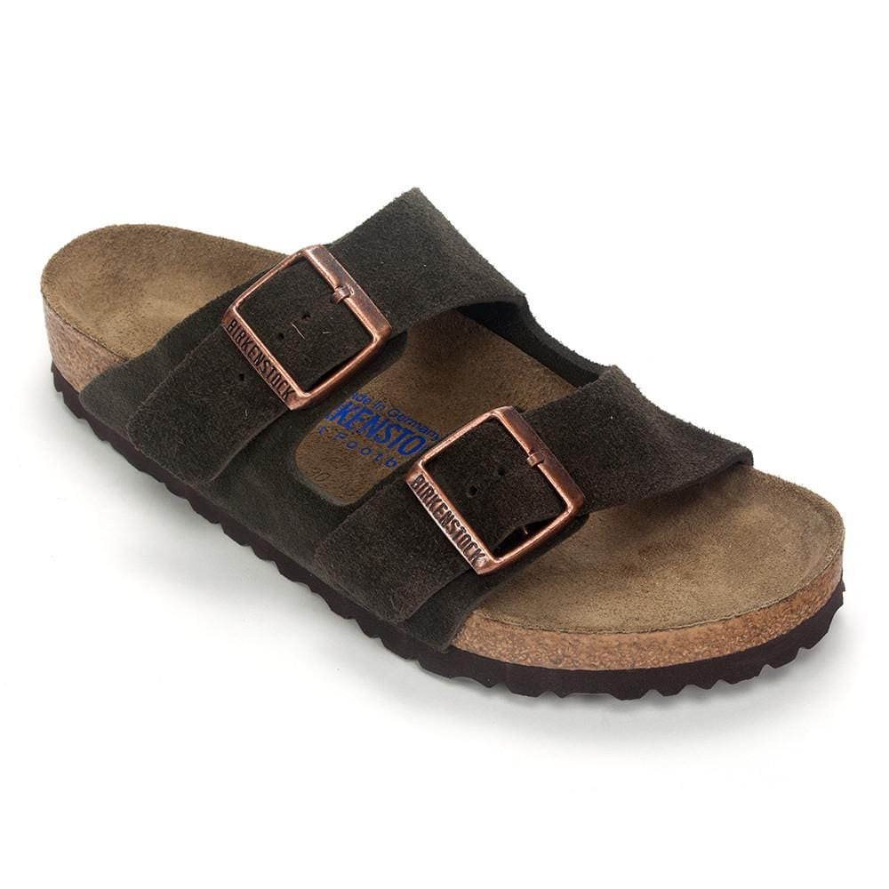 Birkenstock Arizona Soft Womens Cork Heel Sandal Shoe