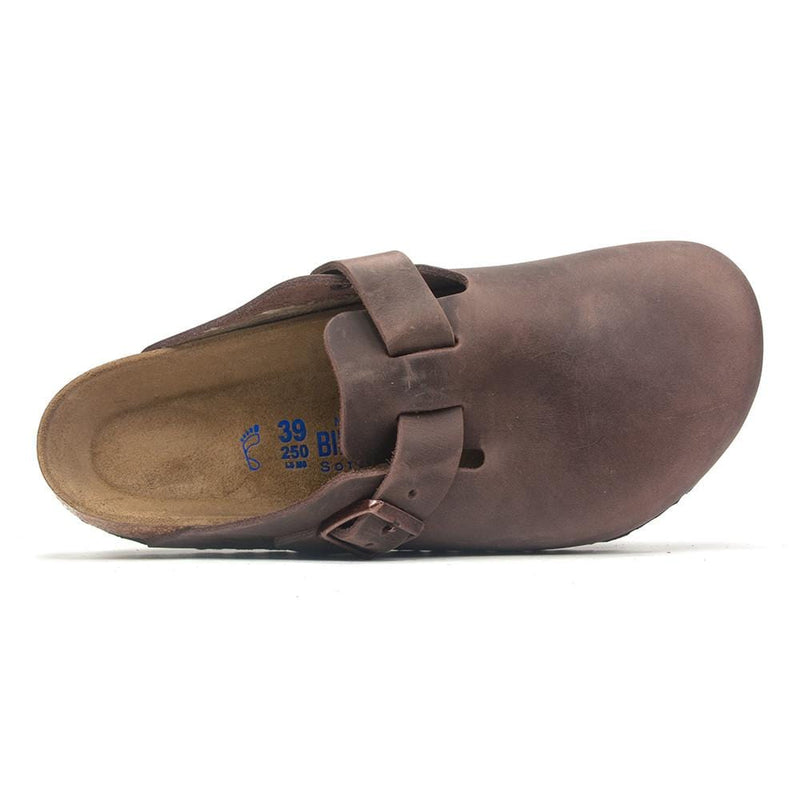 Birkenstock Women's Boston Soft Suede Clog Shoe