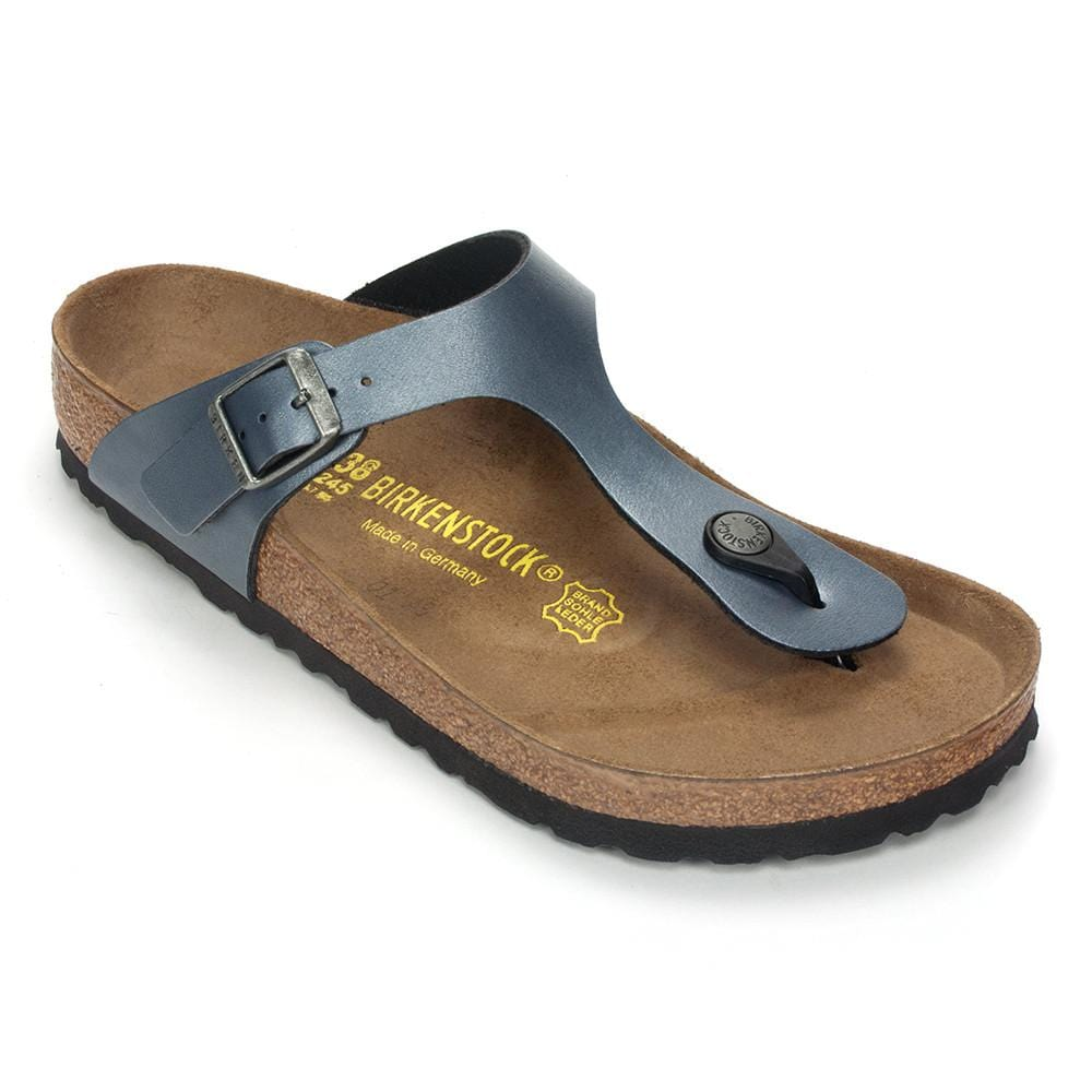 7b754c764d2 Birkenstock Gizeh Women s Leather Cork Thong Sandal – Simons Shoes
