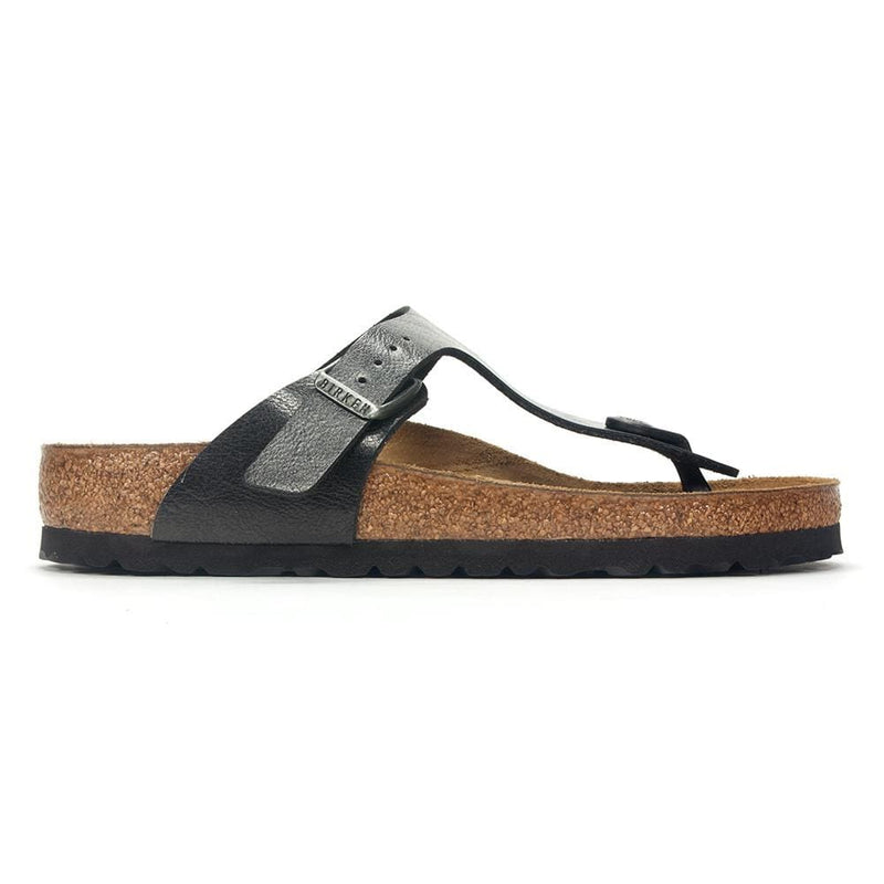 Birkenstock Gizeh | Women's Leather Cork Thong Sandal | Simons Shoes