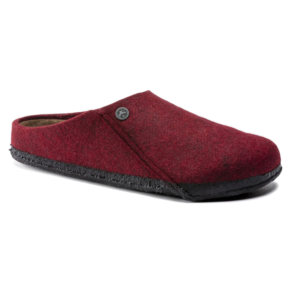 Birkenstock Zermatt Women's Shearling Lined Wool Slipper Vermouth | Simons Shoes