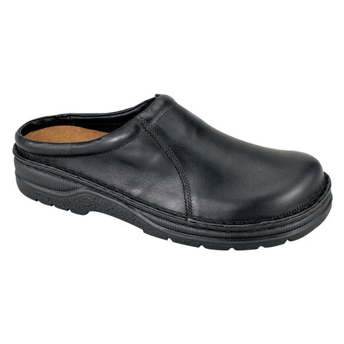 Naot Bjorn Men's Leather Padded Support Clog Shoes