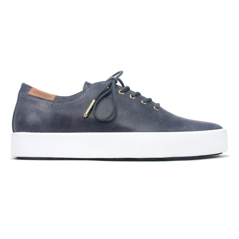Blackstone - Women's Leather Lace-Up Sneaker (PL74) - Simons Shoes
