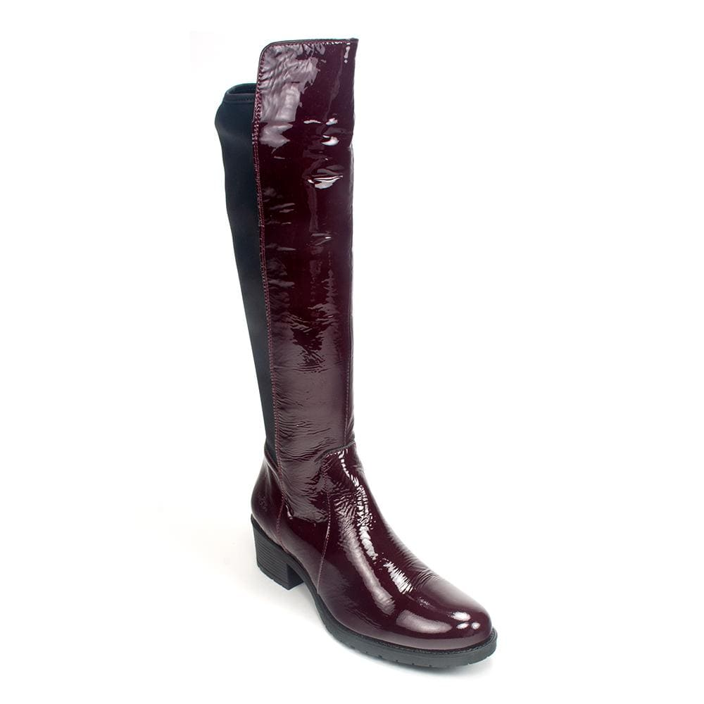 Bos & Co Women's Over the Knee Blyth Patent Leather Boot