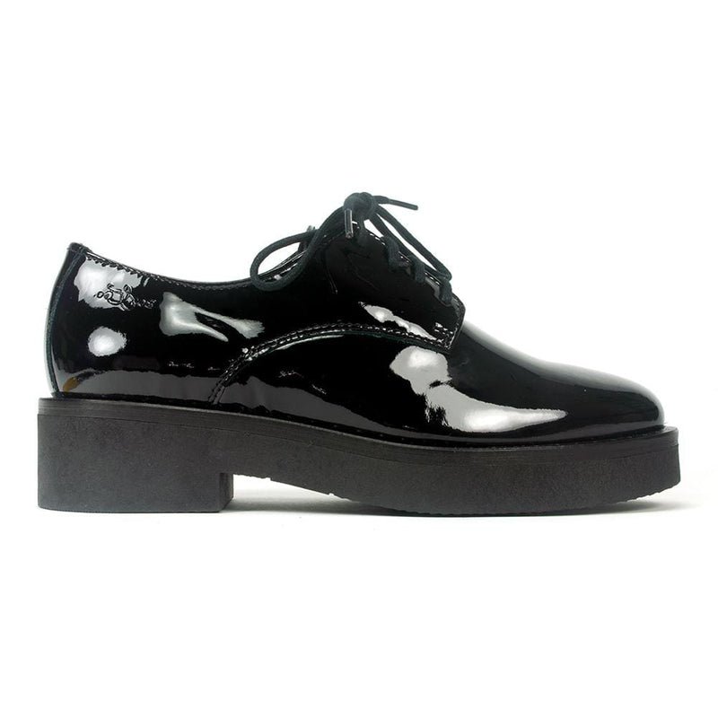 Bos & Co Women's Fond Waterproof Patent Leather Loafer | Simons Shoes