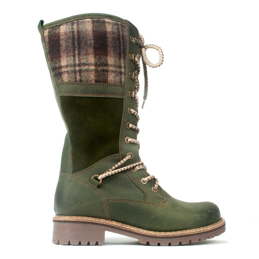 Bos &Co Holiday Waterproof Leather Wool Lined Boot | Simons Shoes